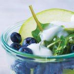 como hacer ensalada de manzana verde con moras