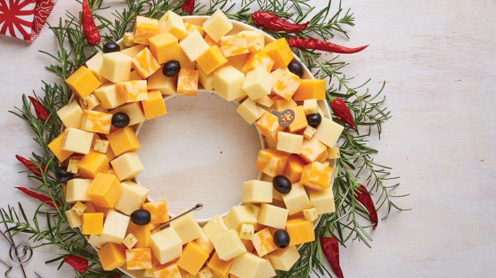 corona de quesos