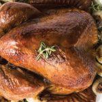 receta de un pavo tradicional de navidad