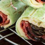 receta de wrap estilo italiano