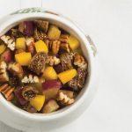 relleno de pavo dulce de membrillo y frutos secos