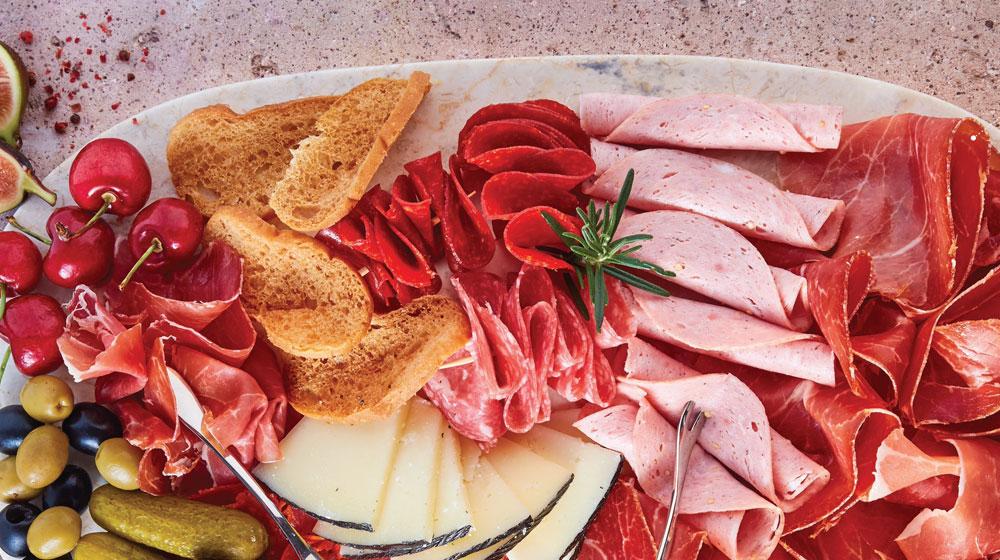 tabla de carnes frías