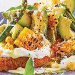 baguette receta de avocado toast