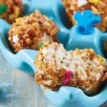 bolitas de granola para niños