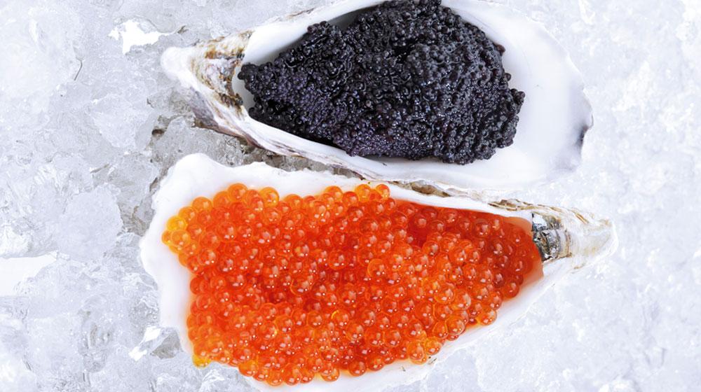 tipos de caviar
