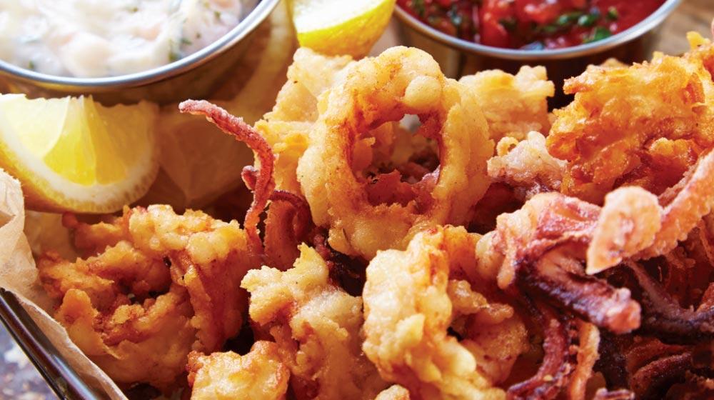 comida italiana: receta de calamari fritti
