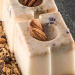 gelatina de yogurt con granola