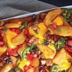 nachos con papas gajo