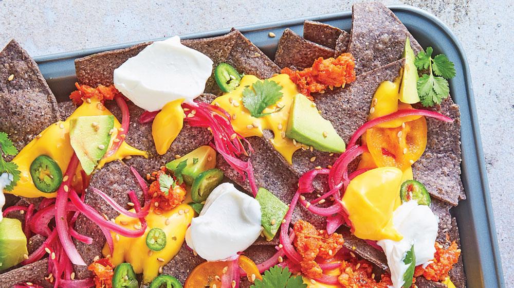 nachos gratinados
