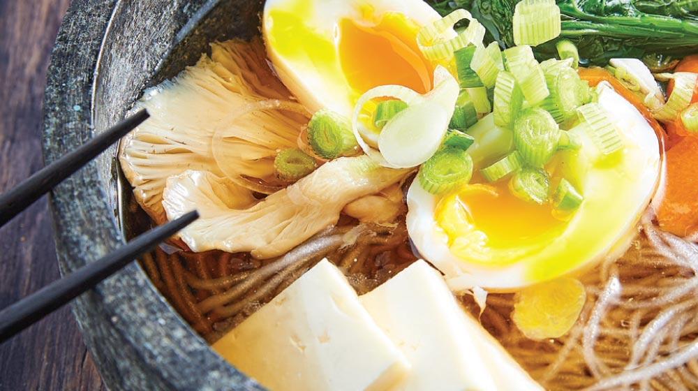 ramen: receta con tofu
