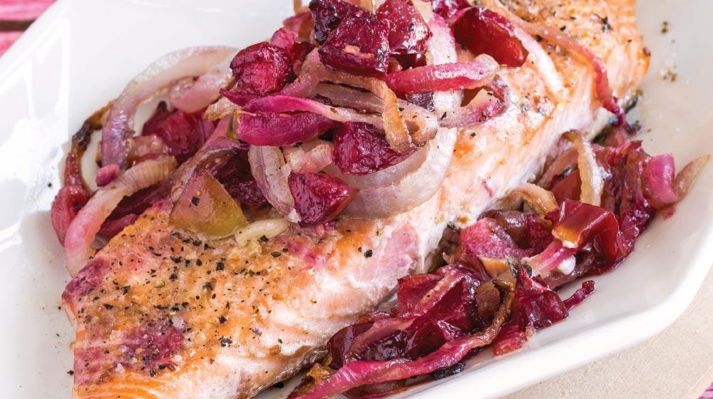 receta con salmón