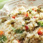 receta de un risotto a la mexicana