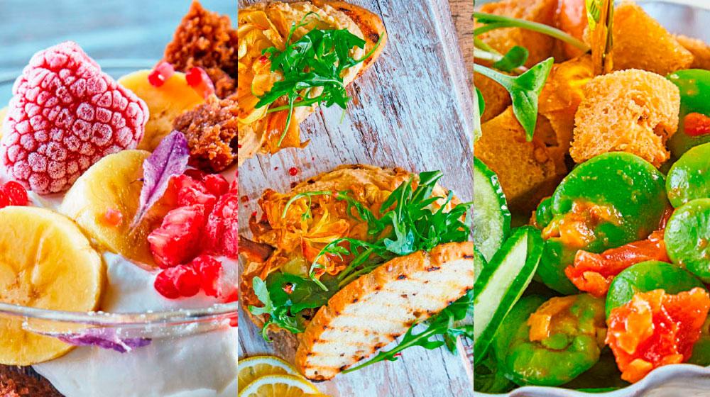 Recetas veganas para comenzar tu dieta