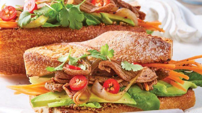 Comidas rapidas recetas cocinar sandwich saludable