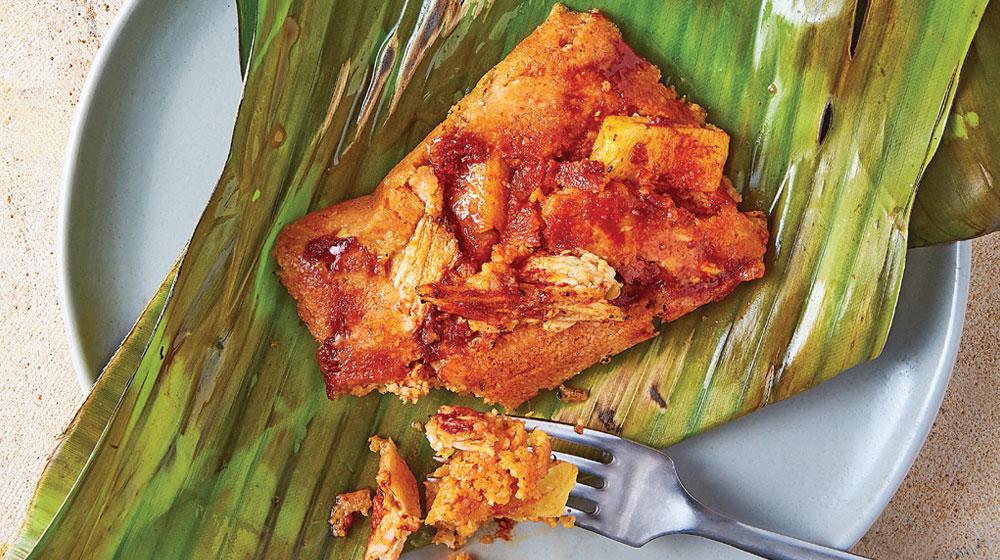 tamales de adobo