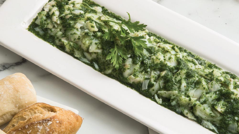 bacalao receta en salsa verde