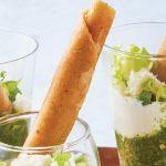 como hacer salsa verde para flautas