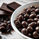 pasitas con chocolate