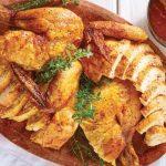 pollo rostizado receta con ajo, limón y tomillo