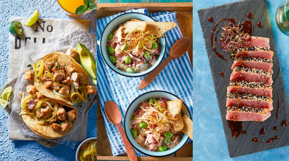 recetas de atún fresco