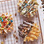 waffles decorados
