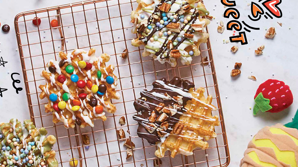 waffles decorados