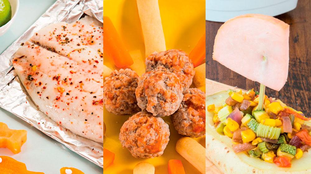 Recetas de comida saludable para niños con proteína