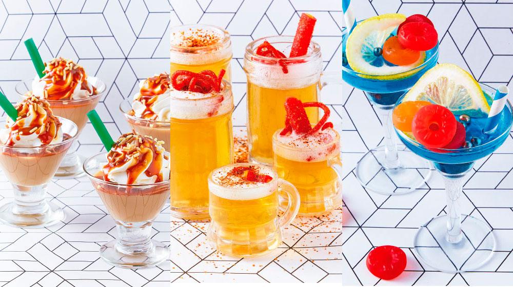 gelatinas para fiesta