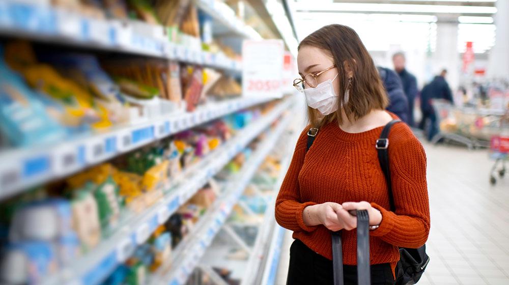 Tips para ir al supermercado más cercano y prevenir contagios