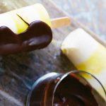 como hacer paletas de limon con chocolate