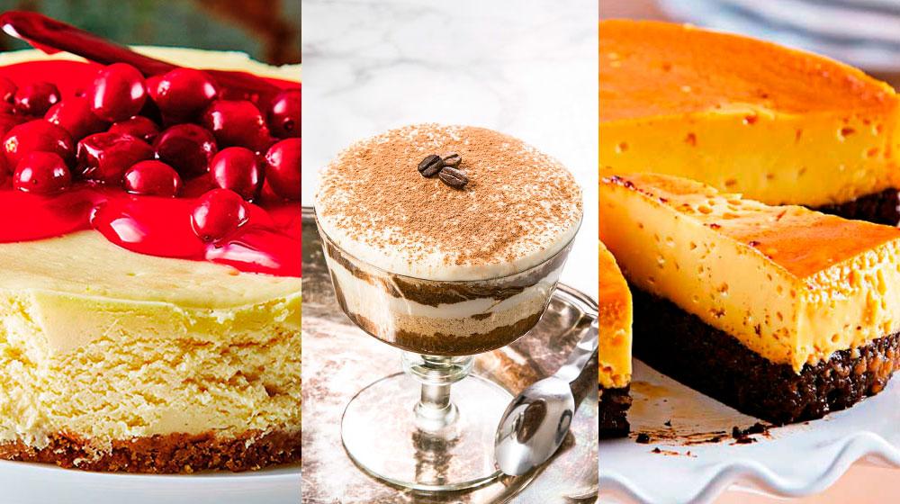 Los 5 pasteles más famosos y recetas para prepararlos