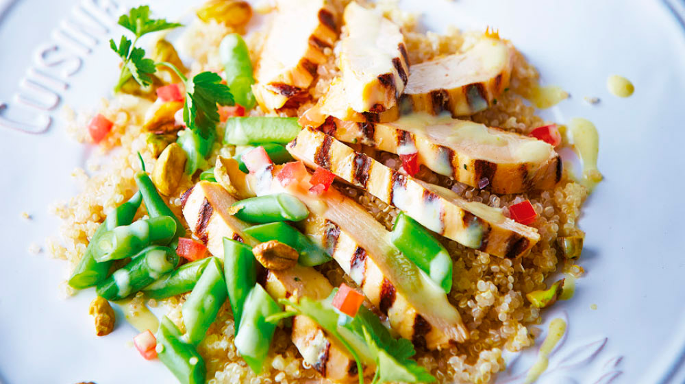 recetas con pollo asado