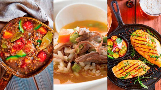 Recrtas de comida saludables para la cuarentena