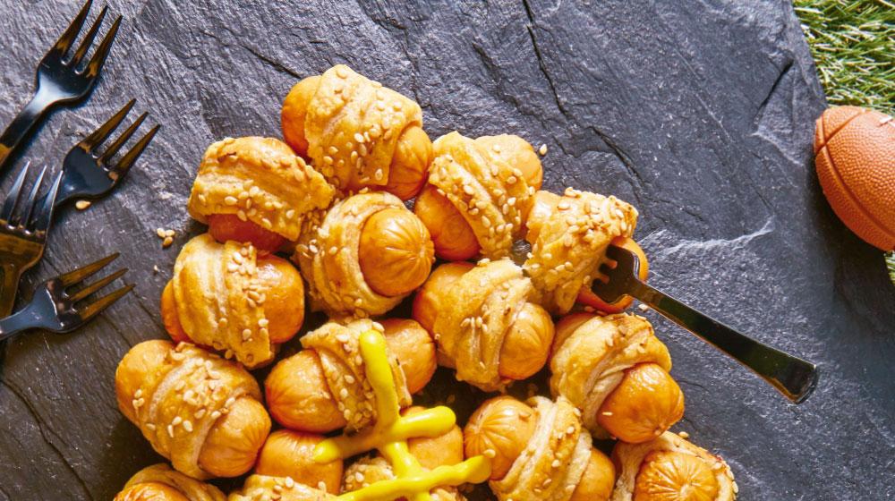 Recetas salchichas deliciosas en hojaldre para botanear