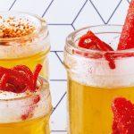 shots de gelatina sabor cerveza