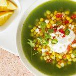 Sopa verde con elote: receta fácil y deliciosa