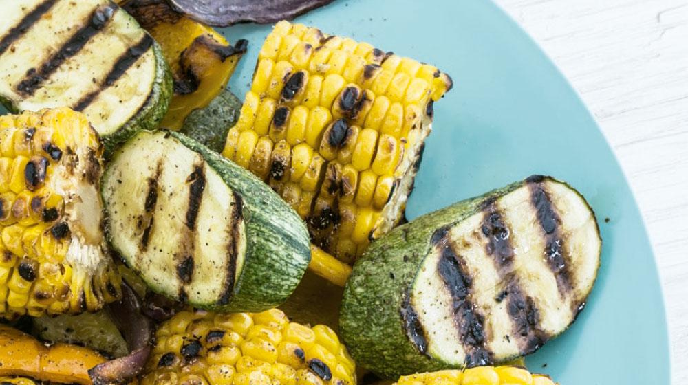 Receta de verduras al grill para disfrutar en casa