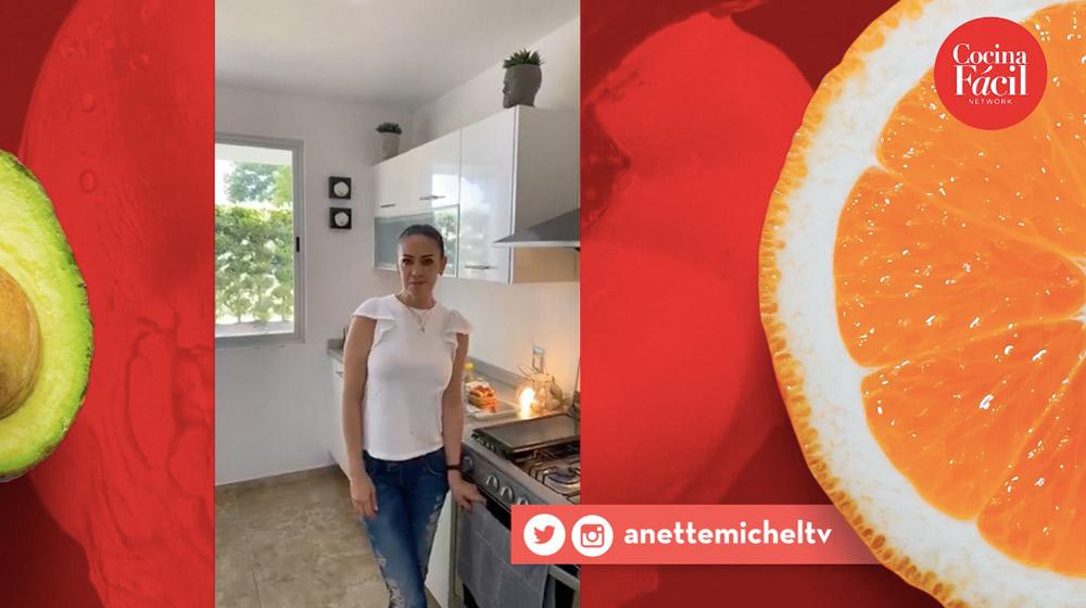 Hasta la cocina con Anette Michel