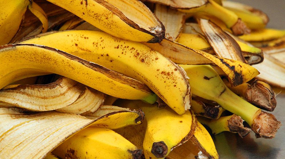 Descubre todo lo que puedes hacer con cáscara de plátano