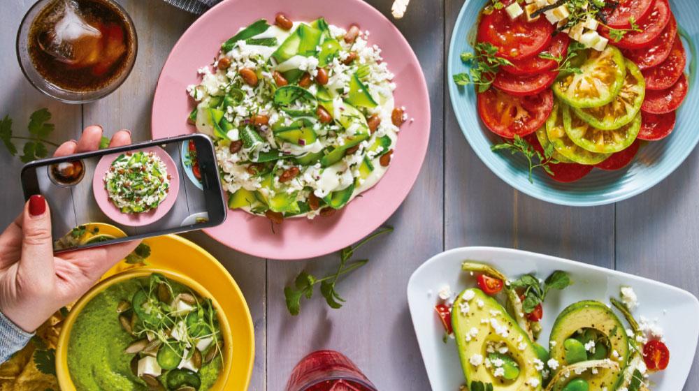 Comida sana para festejar a mamá a la mexicana