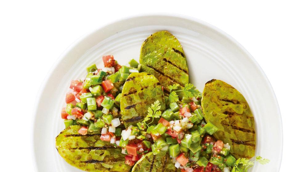 Comida sana y barata: ensalada de nopal