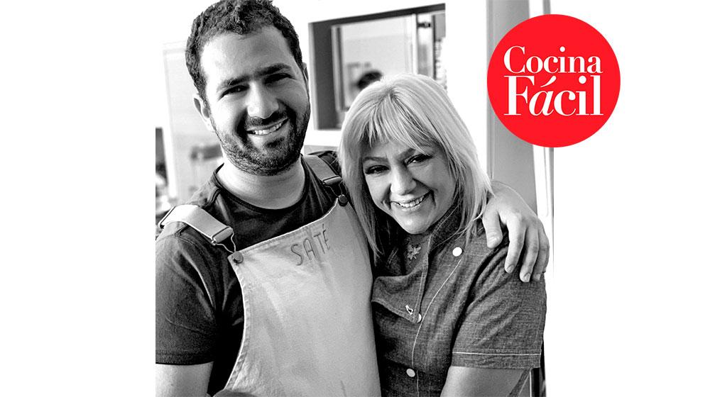Cocinar en familia con el chef Ricardo y la estilista Becky Treves