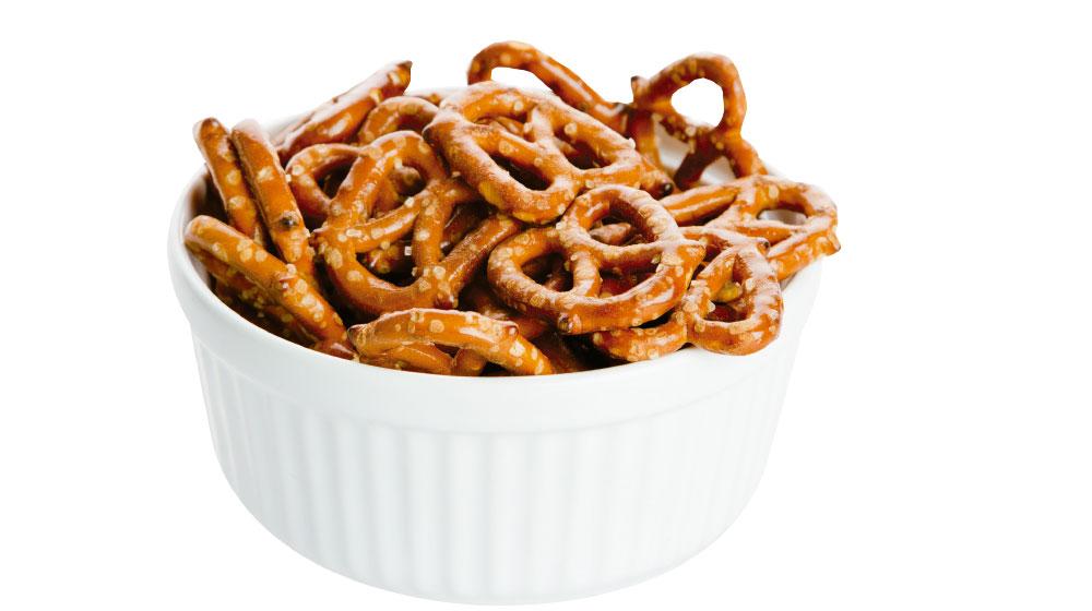 Qué son los pretzels