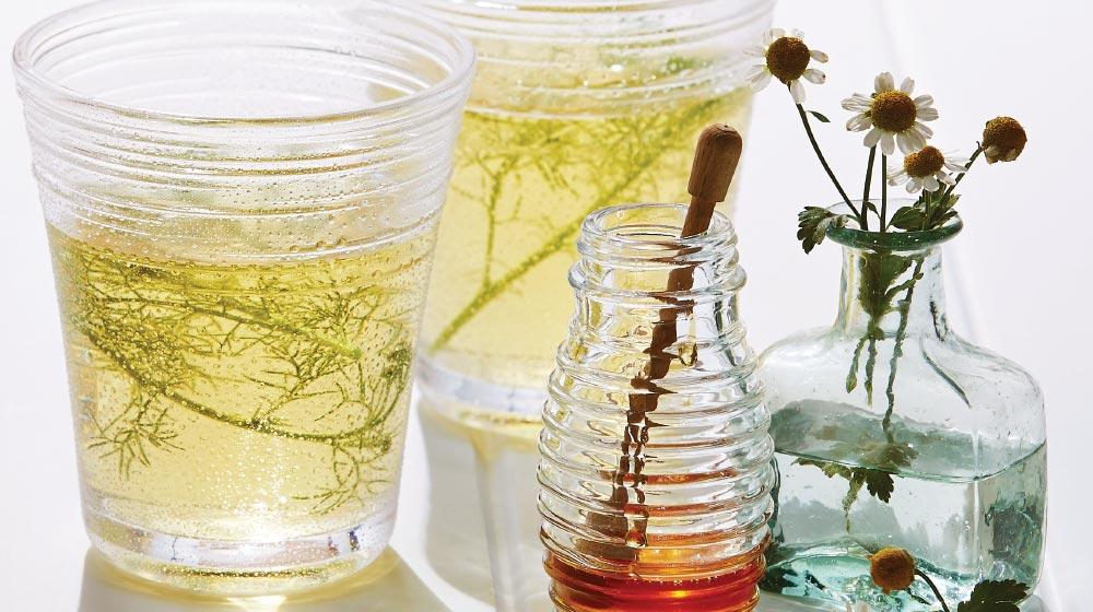 manzanilla y miel para el acné