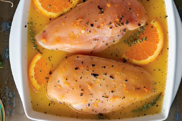 marinar pollo