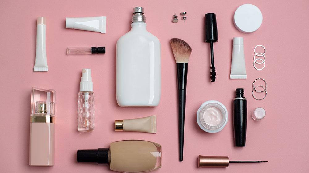Limpiar accesorios de belleza