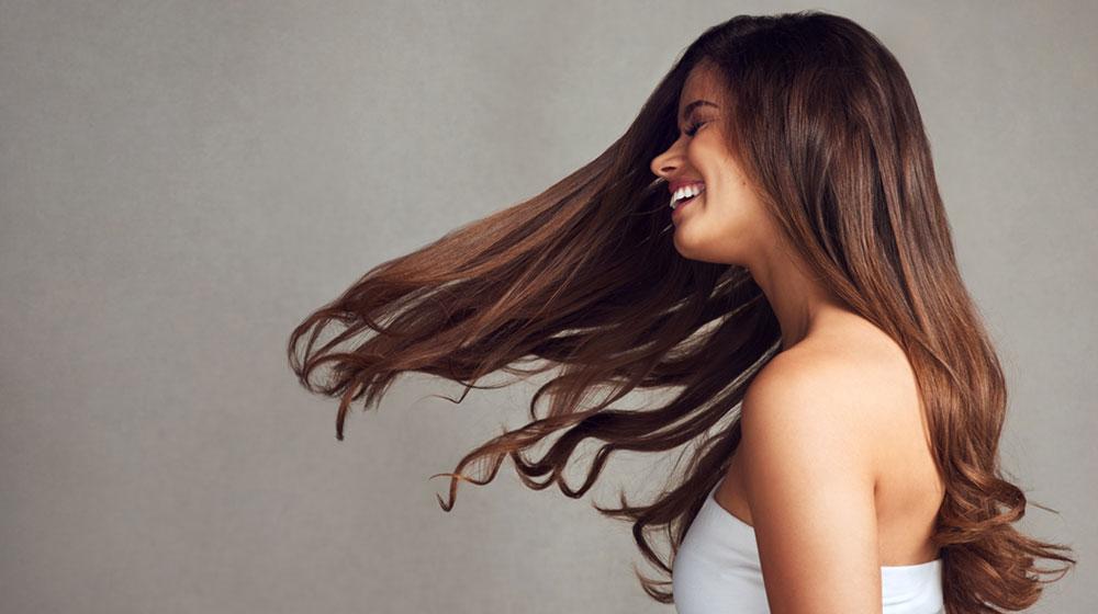 cabello saludable y bello