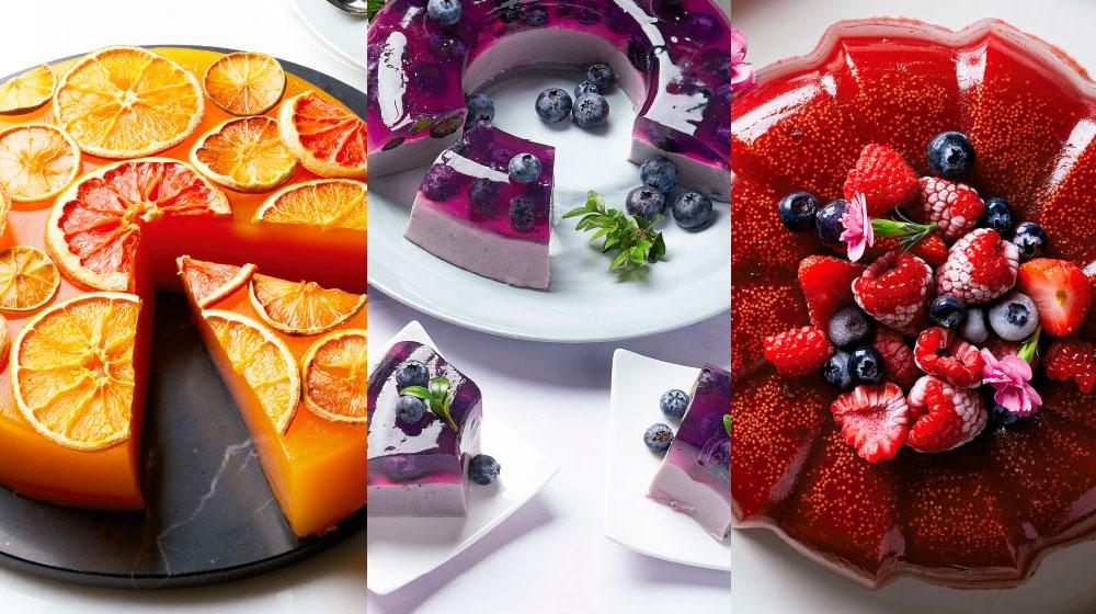 14 recetas de gelatinas de frutas