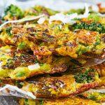 Receta vegetariana: tortitas de arroz salvaje con brócoli