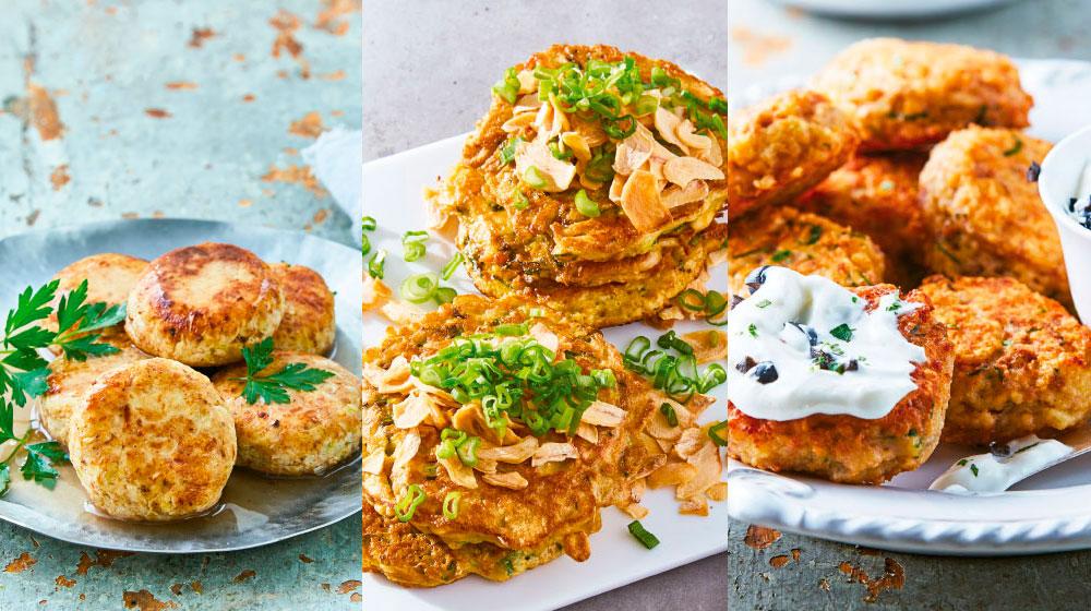 Tortitas de pollo: 5 formas de prepararlas